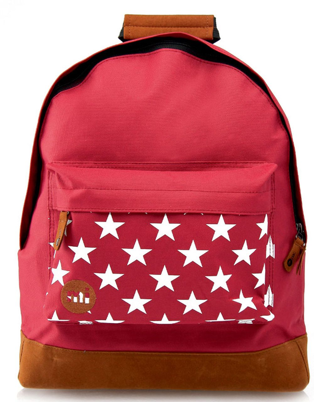 Рюкзак Mi-Pac Pocket Prints Stars Burgundy, 17л