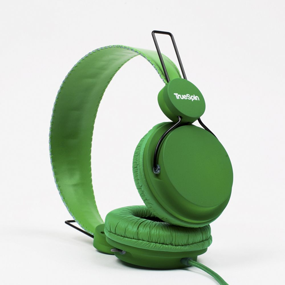 Наушники TRUESPIN BASIC HEADPHONE SS15, green (зеленый)