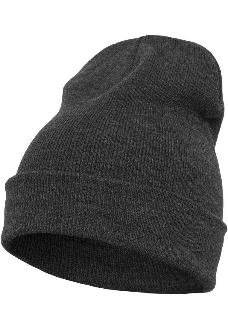 FLEXFIT Шапка Heavyweight Long Beanie charcoal