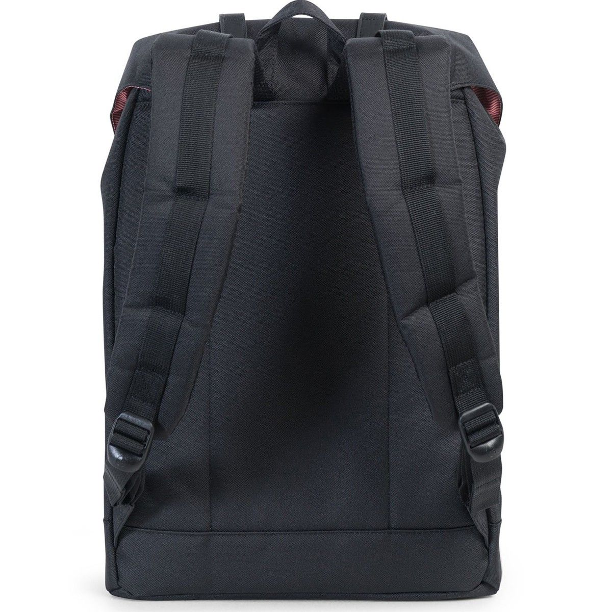 Рюкзак HERSCHEL  RETREAT BLACK/BLACK SYNTHETIC LEATHER 19.5l
