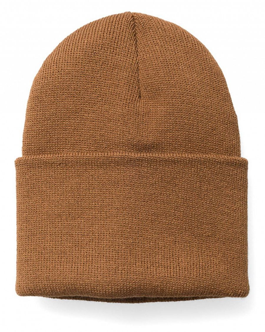 Шапка Carhartt A-18 Acrylic Watch Hat Carhartt Brown