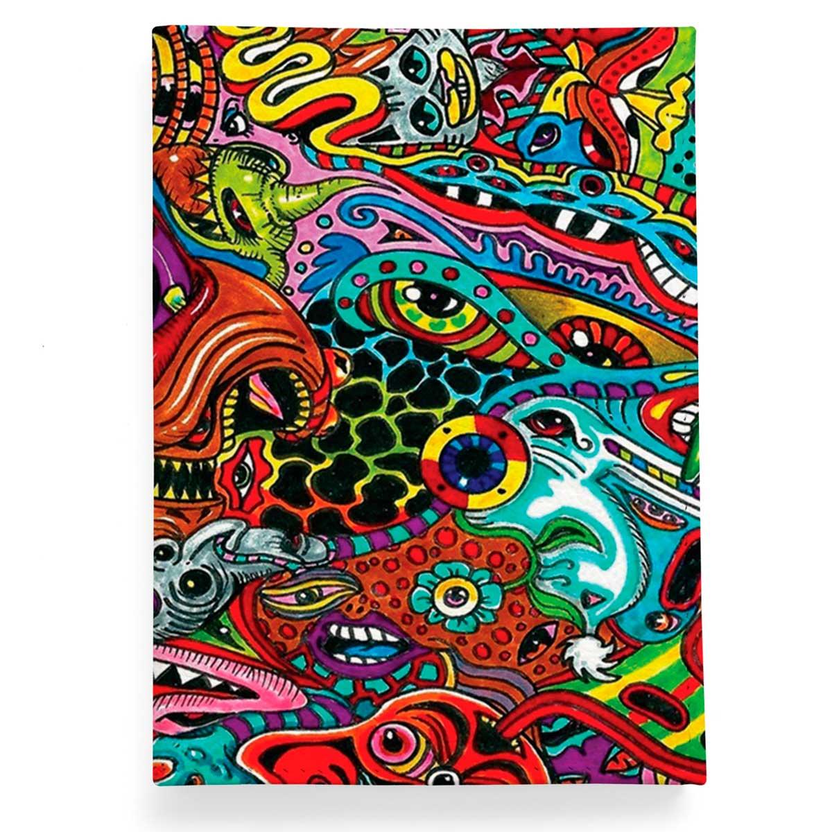 f81b1f3db65b Кожаная обложка для паспорта New Graffiti купить в интернет магазине ...