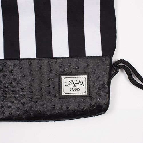 Сумка мешок CAYLER & SONS Budz & Stripes Gym Bag