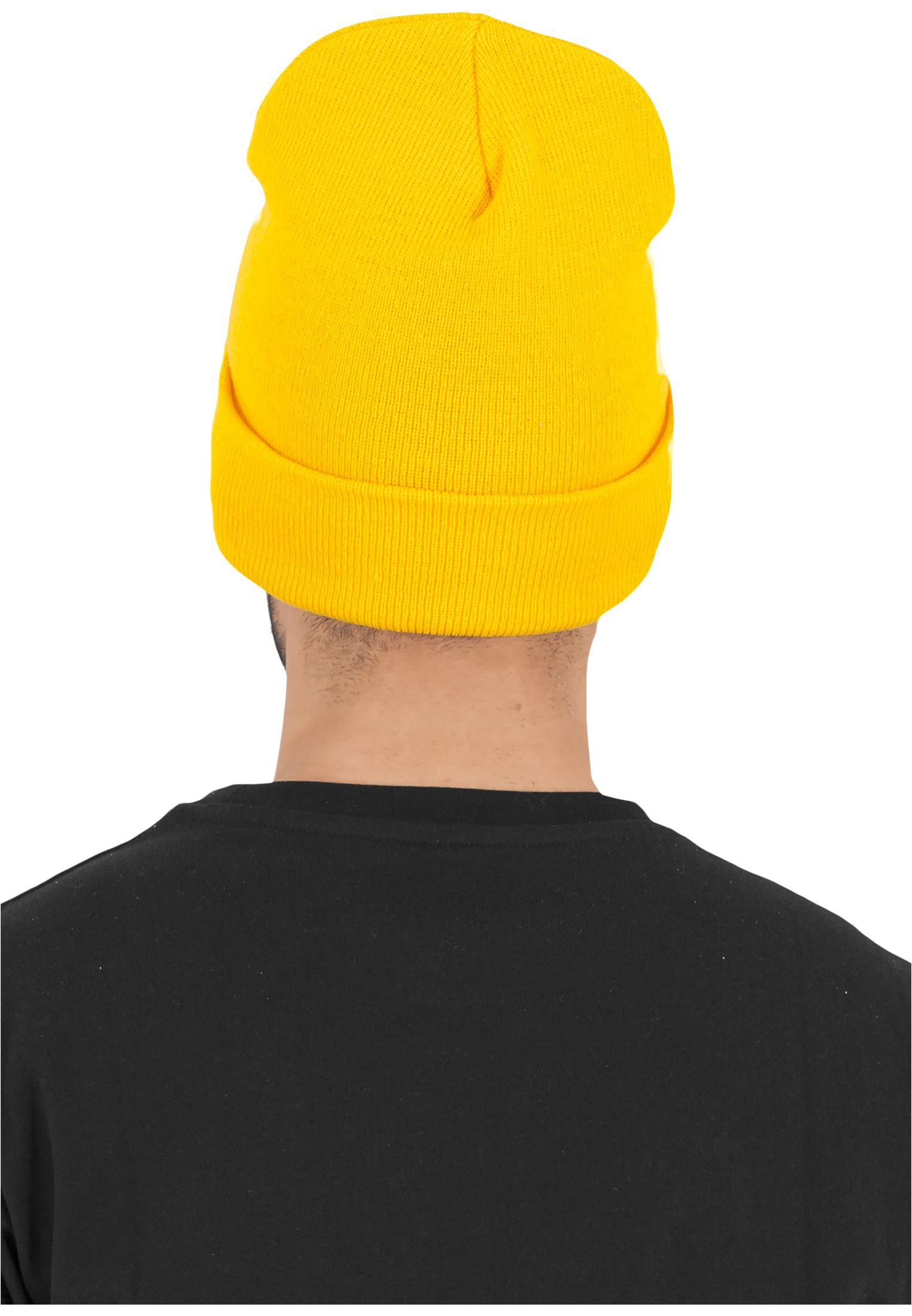 FLEXFIT Шапка Heavyweight Long Beanie gold