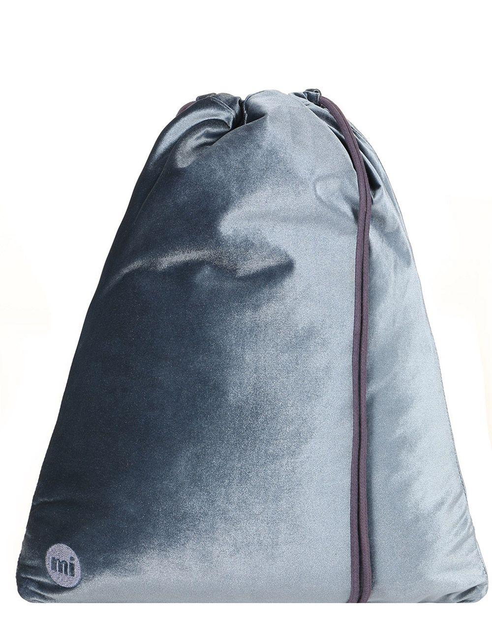 25316ed8d2bd Рюкзак-мешок холщовый Mi-Pac Premium Kit Gym Bag Velvet Petrol Blue ...