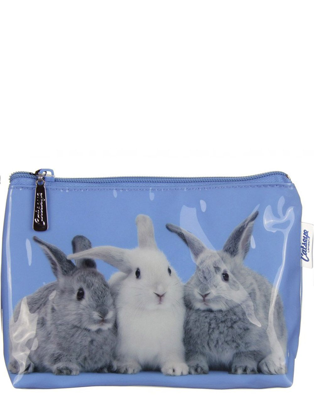 Косметичка Catseye  London Rabbits on Blue