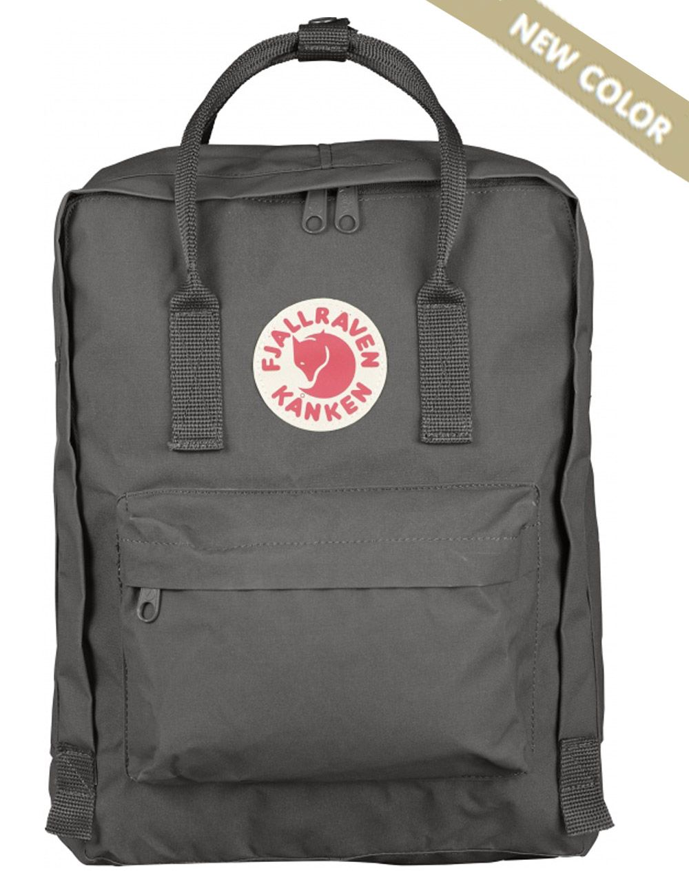 Рюкзак Fjallraven Kanken 16l, Super Grey (New colour)