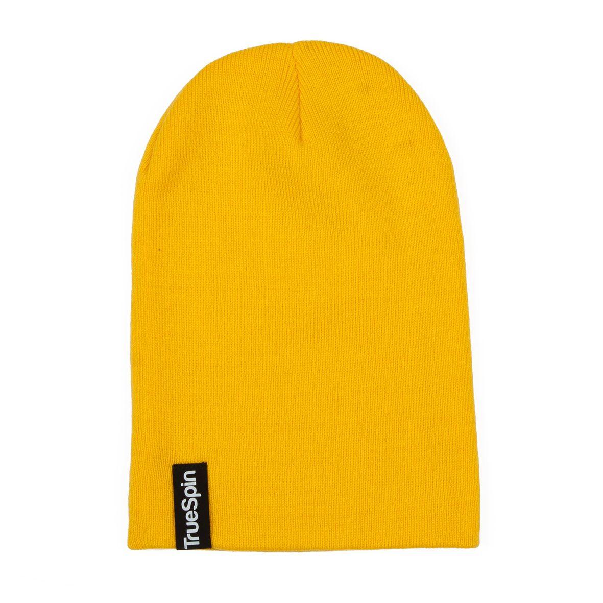 Шапка TRUESPIN Basic Style FW16 желтый купить по выгодной цене f7a405e8c0e6f