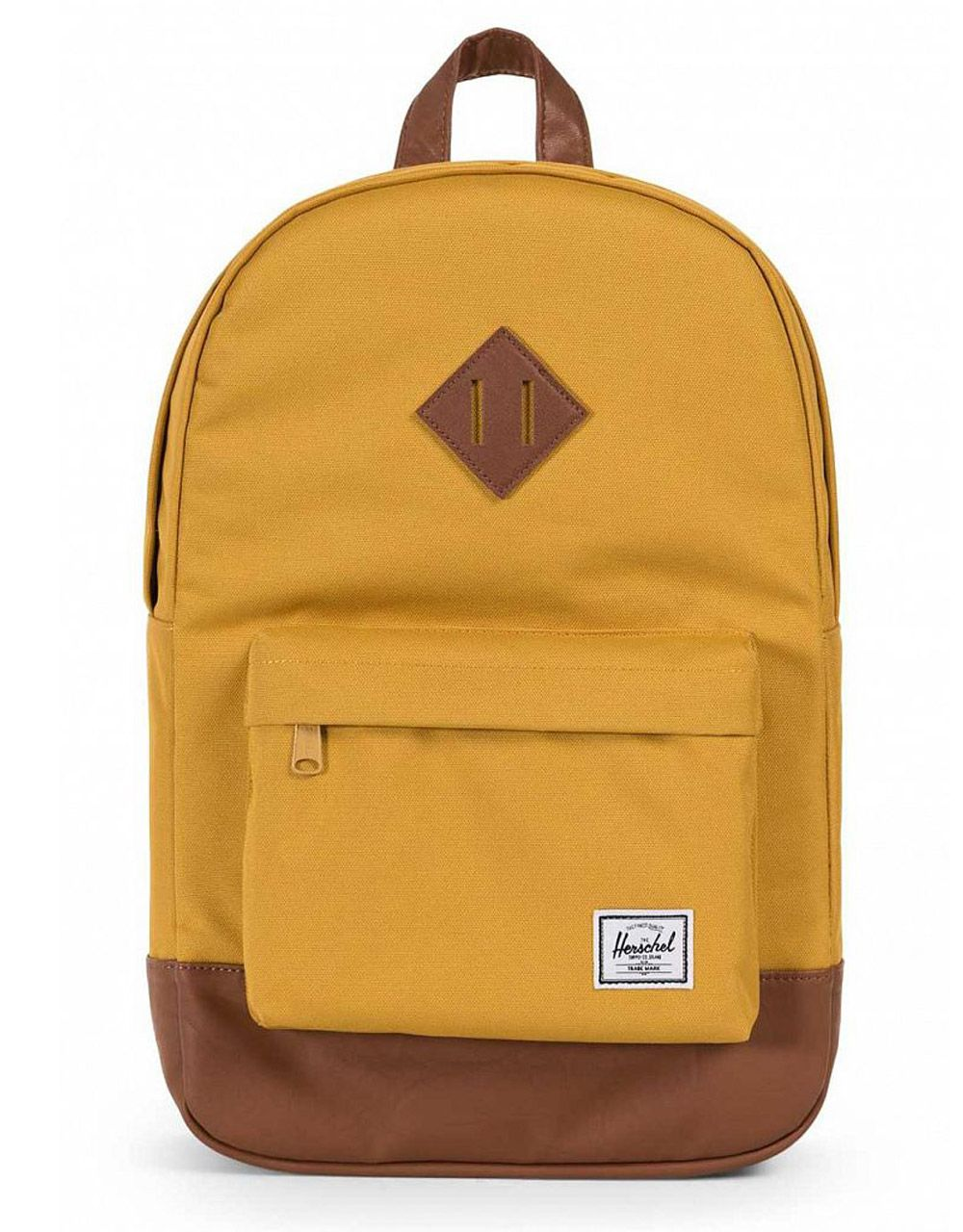 Рюкзак Herschel Heritage Mid-Volume Arrowwood/Tan Synthetic Leather, 14.5l