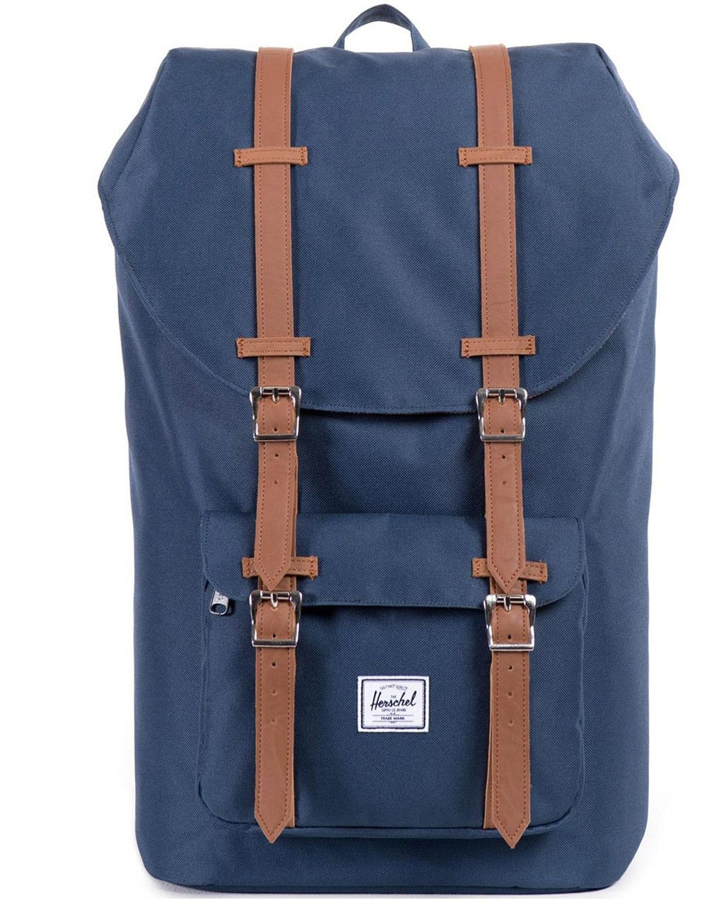 HERSCHEL рюкзак LITTLE AMERICA Navy/Tan Synthetic Leather