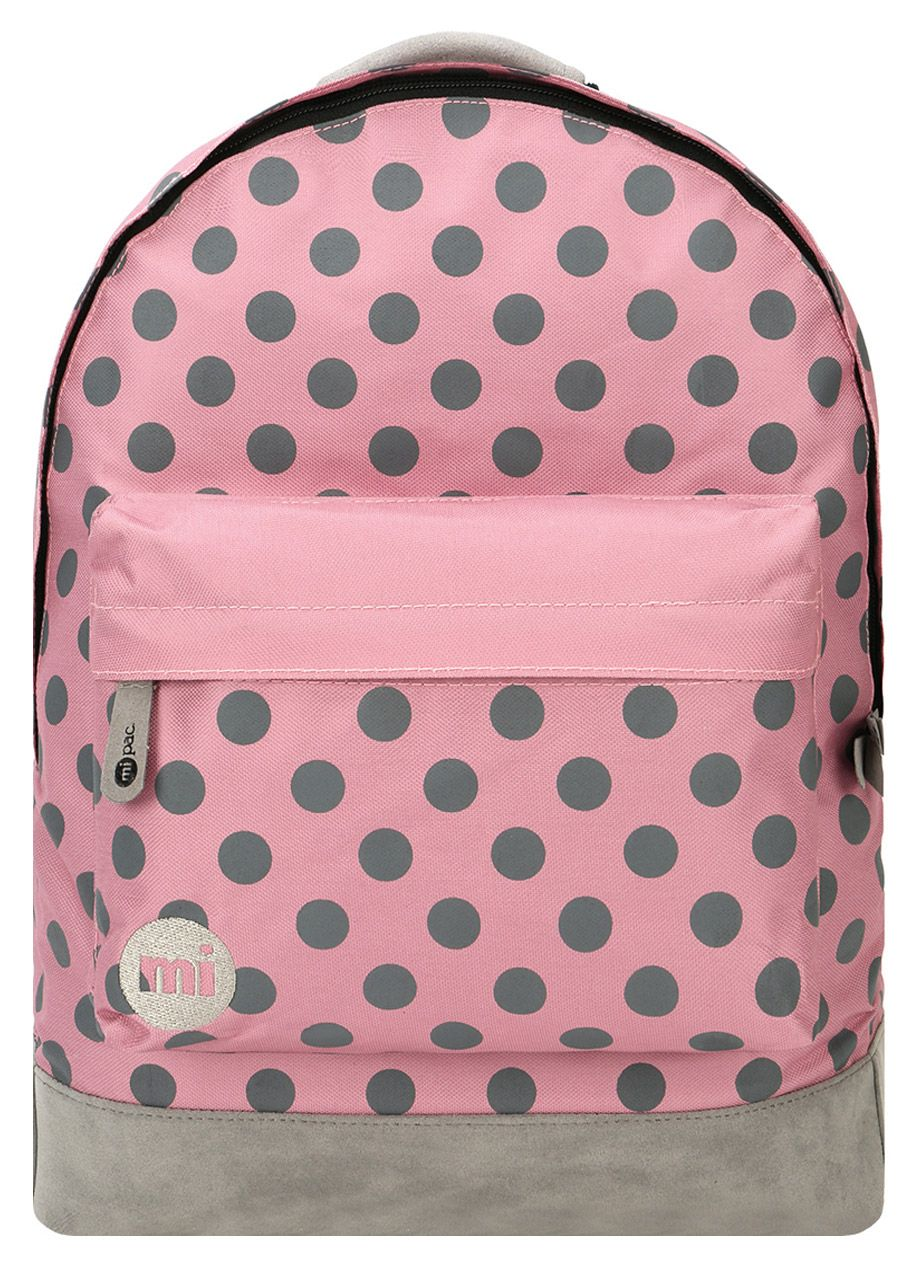 Рюкзак Mi-Pac All Polka Rose/Grey, 17л
