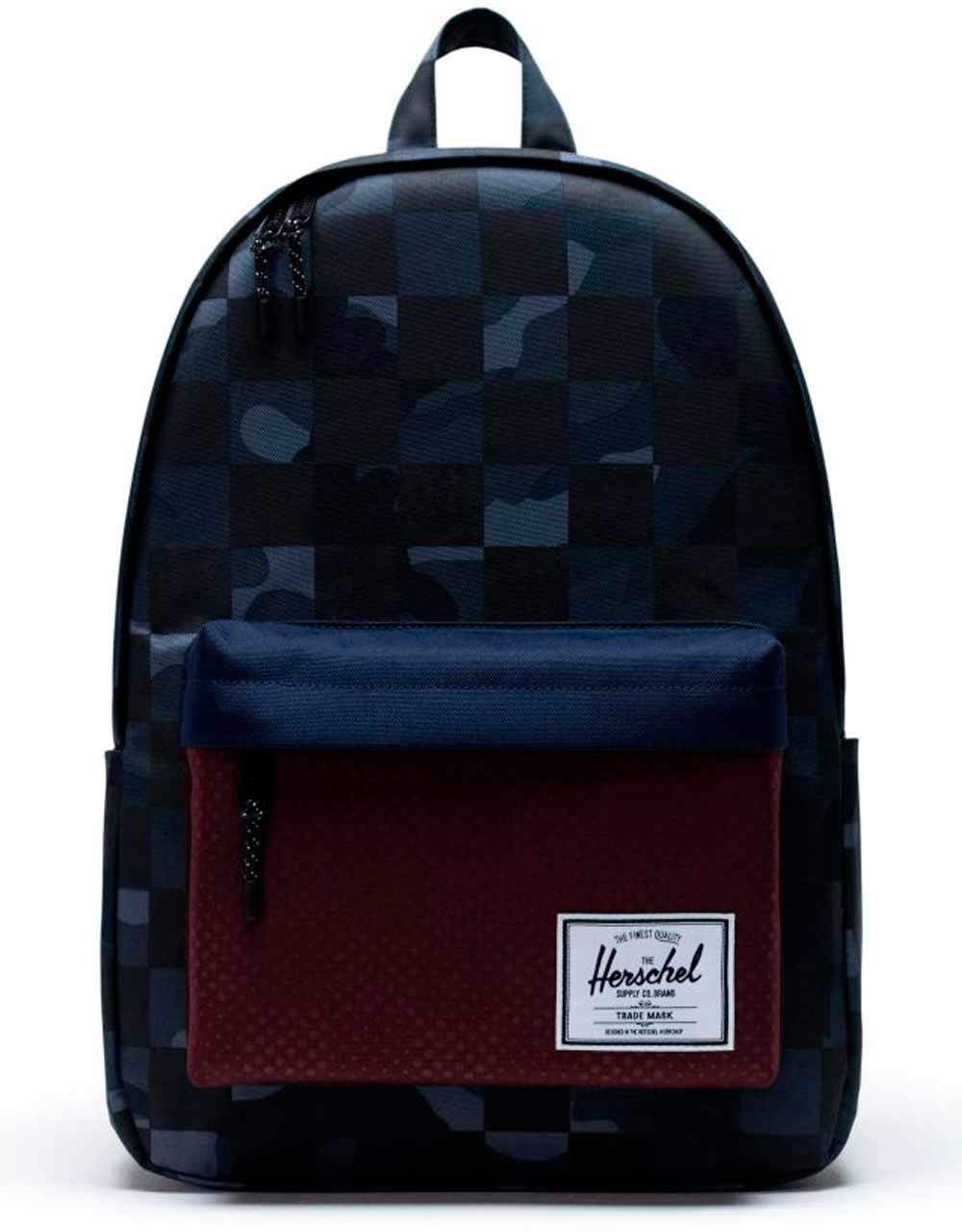 Рюкзак Herschel Classic 24l, Night Camo/Plum Dot Check/Checker