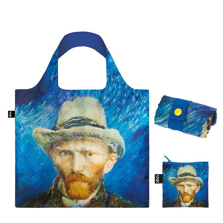 сумка loqi vincent van gogh self portrait