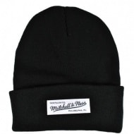 Шапка Mitchell & Ness Nostalgia Cuff Knit (black)