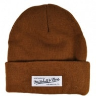 Шапка Mitchell & Ness Nostalgia Cuff Knit (tan)