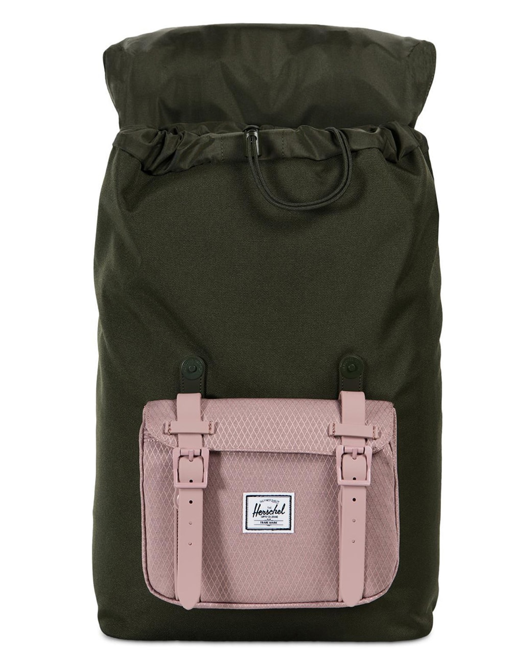 Рюкзак HERSCHEL LITTLE AMERICA MID-VOLUME Forest Night/Ash Rose, 17L