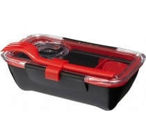 Ланч бокс Black+Blum Bento Box Black/Red