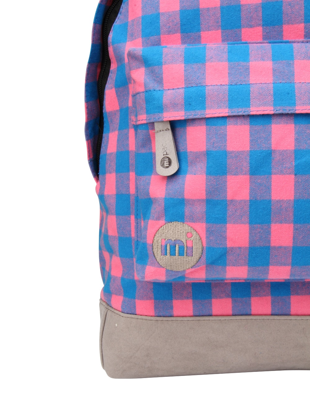 Рюкзак Mi-Pac PREMIUM Plaid Gingham Pink/Blue, 17л