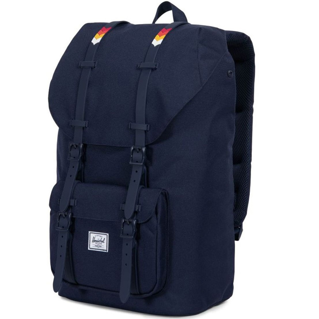 Рюкзак HERSCHEL LITTLE AMERICA MID-VOLUME Peacoat/Rainbow Chevron Rubber, 17L
