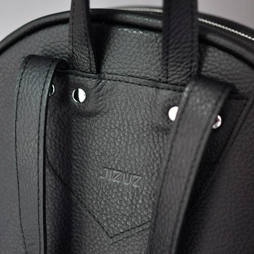 2c49fd273eaa Купить РЮКЗАК женский кожаный JIZUZ PILOT Black 11,5л в интернет ...