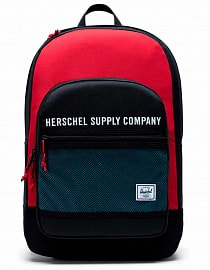 Рюкзак Herschel Kaine 30l, Black/Red/Bachelor Button