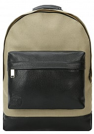 Рюкзак Mi-Pac Gold Canvas Tumbled Khaki/Black, 17л