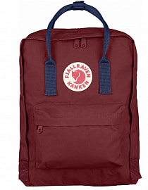 Рюкзак Fjallraven Kanken 16l, Ox Red-Royal Blue