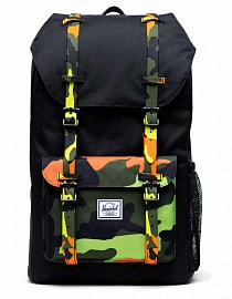Рюкзак Herschel Little America Youth 18l, Black/Neon Camo