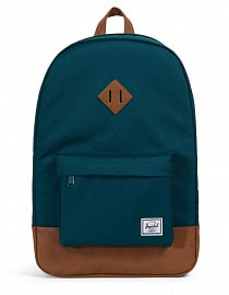 Рюкзак Herschel Heritage Deep Teal/Tan Synthetic Leather 21,5l