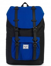Рюкзак HERSCHEL LITTLE AMERICA MID-VOLUME Black/Surf the Web, 17L