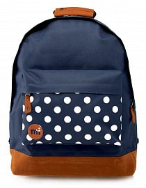Рюкзак Mi-Pac Pocket Prints Polkadot Navy, 17л
