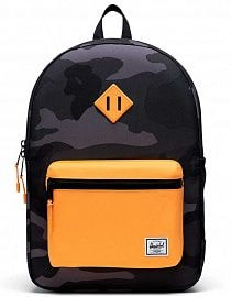 Рюкзак Herschel Heritage Youth 16l, Night Camo/Blazing Orange