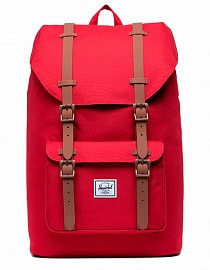Рюкзак Herschel Little America Mid-Volume 17l, Red/Saddle Brown