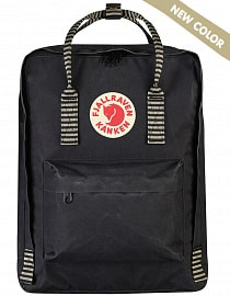 Рюкзак Fjallraven Kanken 16l, Black - Striped (New Color!)