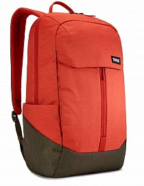 Рюкзак городской Thule Lithos Backpack 20L -  Rooibos/Forest Night