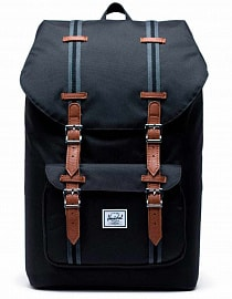 Рюкзак HERSCHEL Little America Black/Black/Tan, 25l