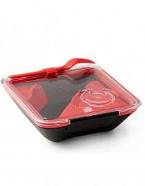 Ланчбокс Black+Blum Box Appetit Black/red