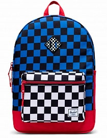 Рюкзак Herschel Heritage Youth X-Large 20l, Multi Check Amparo Blue/Red/Black White Checker