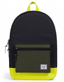 Рюкзак Herschel Settlement Black/Forest Night/Evening Primrose, 23l