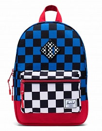 Рюкзак Herschel Heritage Kids 9l, Multi Check Amparo Blue/Red/Black White Checker