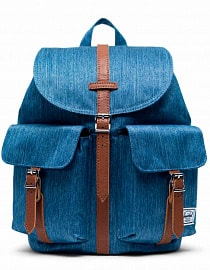 Рюкзак HERSCHEL Dawson Small FADED DENIM, 13l