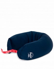 Подушка для путешествий Herschel MicroBead Pillow, navy/red