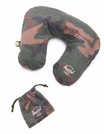 Подушка для путешествий Herschel Inflatable Pillow, Woodland Camo