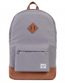 Рюкзак Herschel Heritage Grey/Tan Synthetic Leather 21,5l