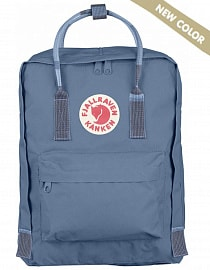 Рюкзак Fjallraven Kanken 16l, Blue Ridge-Random Blocked (New colour)