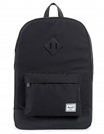Рюкзак Herschel HERITAGE Black/black Synthetic Leather 21,5l