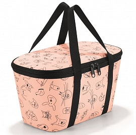 Термосумка Reisenthel Coolerbag XS cats and dogs rose