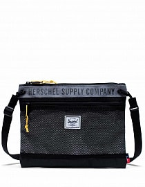 Herschel Alder Mid Grey Crosshatch/Light Grey Crosshatch/Black