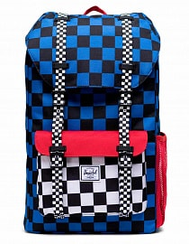 Рюкзак Herschel Little America Youth 18l, Multi Check Amparo Blue/Red/Black White Checker