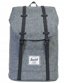 Рюкзак Herschel Retreat Raven Crosshatch/Black, 19,5l